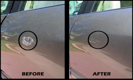 Olds Aurora dent removal