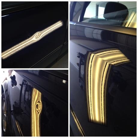 Door Dent Repair on a Chevy Cruze
