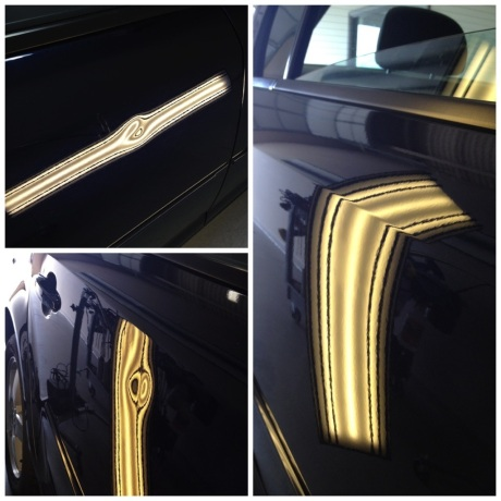 Door Dent Repair on a Chevy Cruze